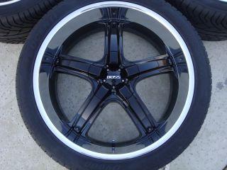 24 Boss 333 Wheels Tires Suburban Denali Tahoe Sierra