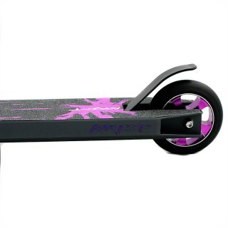 Grit Elite 2 2012 Purple Grey Pro Stunt Scooter New Flex Brake Edition