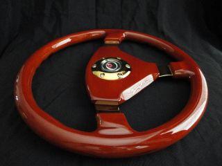 New 15 Designo 3 Spoke Wood Grain Steering Wheel
