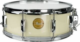 Pearl Vision Birch Snare Drum Ivory w/ Chrome Hardware 14x5.5