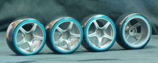 New 4X 1 10 RC Car Wheel Rim Drift Tyre Tire P9IG5