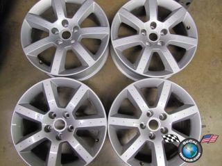 03 05 Nissan 350Z Factory 17 Staggered 7 spoke Wheels OEM Rims
