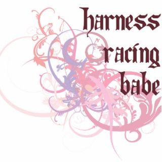 Harness Racing Babe Photo Cut Out