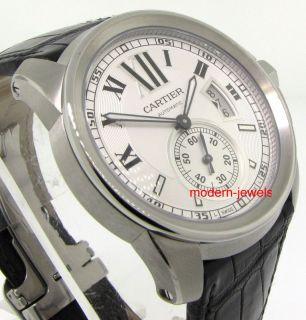 Cartier Calibre de Cartier Mens Watch White W7100037
