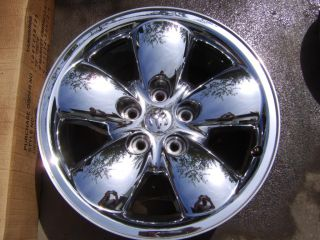 20 Dodge RAM 1500 2003 05 Wheel Rim CHROME CLAD 2167A OEM 52110356AA