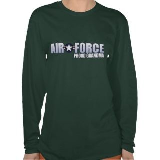 Proud Air Force Grandma Tee Shirts