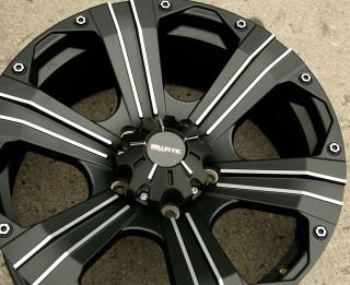 Road Outlaw 902 20 Black Rims Wheels Tundra 5H 20 x 9 0 5H 30