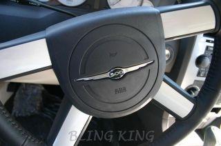 Chrysler 300 bentley mesh grille grill emblems badges #300 front/trunk