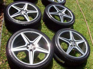 22 Mercedes R350 R500 ML350 ML320 ML500 Wheels Tires