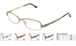 New Womens Cazal 4081 759 Olive Eyeglasses Germany Full