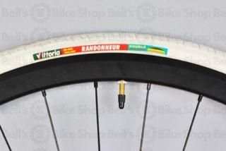 Vittoria Randonneur Tire 700x28 White Track Fixed Road