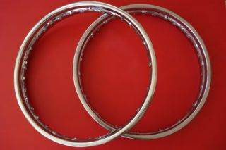 DREAM 250 305 C72 CA72 CS72 C77 CA77 CS77 FRONT + REAR WHEEL METAL RIM