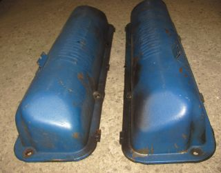 60 61 62 63 64 Ford Thunderbird 332 352 390 Valve Covers Original Pair