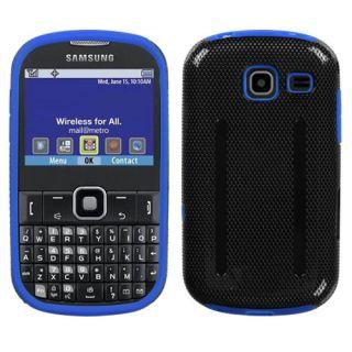 Samsung Freeform III Comment R380 Dual Layer Techno Hybrid Case Black