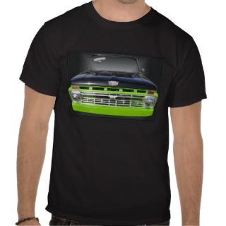 Vintage Ford Truck on Black Tshirts