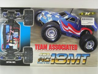 Team Associated RC18MT 1 18 Monster Truck RTR ASC20110