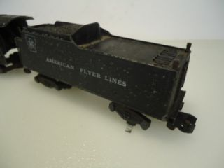 Vintage American Flyer 313 4 6 2 Locomotive Train as Is s Gauge