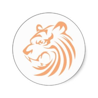 White Tiger T Shirts  Cool White Tiger T Shirts Sticker