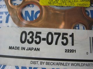 65 66 67 68 69 Datsun 411 520 Pickup Copper Head Gasket