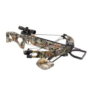 Chace Sun 175 lbs 330 FPS Compound Crossbow 4x32 Scope Package