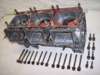 96 Polaris 680 Ultra SP SKS RMK XCR Triple Motor Engine Crank Case