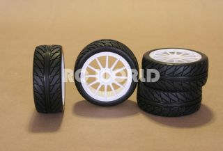 HIGH PERFORMANCE 1/8 RACING TIRES CAN BE USED ON BUGGY, CAR, OR TRUCK