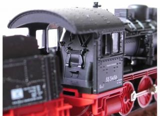 Fleischmann Piccolo 7152 DR BR 55 Tender Steam Locomotive class 0 8 0
