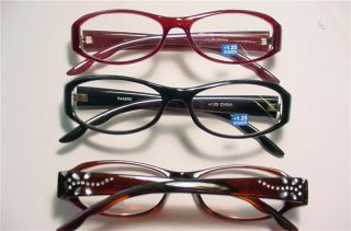 Firefly Dragonfly Rhinestone Reading Glasses 1 75 R448