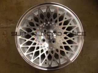 STANCE WHEELS ENCORE 16X8 +26 4X100 WHITE MACHINE HONDA ACURA CIVIC