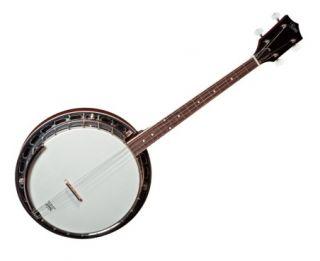 New High Quality 4 String Tenor Bluegrass Resonator Beginner Banjo