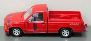 Chevrolet Pickup 1500 Die Cast Model Truck 454SS   124 Scale MotorMax