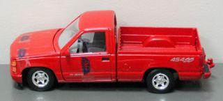 Chevrolet Pickup 1500 Die Cast Model Truck 454SS   124 Scale MotorMax