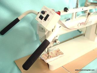 Tin Lizzie 18 Long Arm Quilting Machine, Frame, and Stitch Regulator