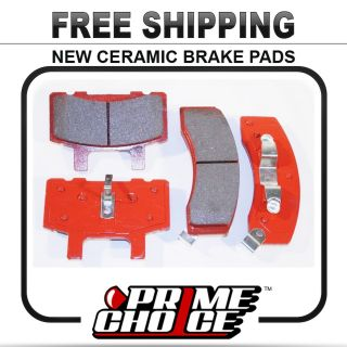 Premium New Complete Ceramic Disc Brake Pad Set for Front Full Pair