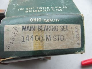 Main Bearings BBC Big Block Chevy 396 402 427 454 V8 Std Size