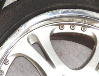 Weds Kranze Cerberus I 18 8 5J 9J 5x114 Rims Alloy Wheels 300zx Supra