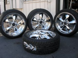 Bullitt Wheels 20x8 5 10 20 inch Tires 2005 Rims Deep Dish