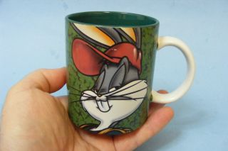 Collectable Vintage Bugs Bunny Looney Tunes Coffee Tea Ceramic Mug Cup