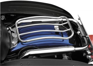 Motherwell 7in Chrome Solo Luggage Rack MWL 430 Harley Davidson