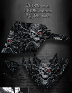 Arctic Cat M Series M7 M8 2006 2011 Decals Black Graphics Machinehead
