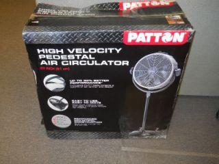 Patton PX405PEDU20 3 Speed CVT Performance Pedestal Fan Metal Plastic