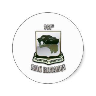 761st Tank Battalion Stickers