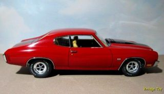 1970 Chevelle 454 LS6 Lane Exact Detail 1 18 Diecast Chevrolet Ad Car