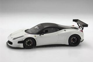 Ferrari 458 GT3 2011 Avus White Matt Black LE24 1 18 BBR P1828AW