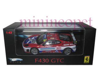 Hot Wheels Elite Ferrari F430 F 430 GTC 1 43 87 Red
