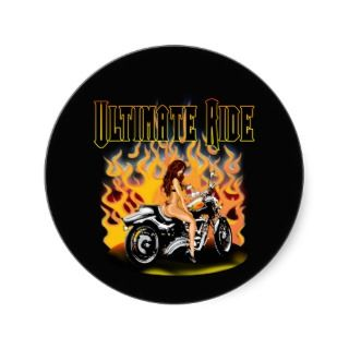 Ultimate Ride Round Sticker