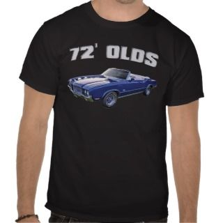1972 Oldsmobile Cutlass Tees
