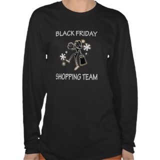 BLACK FRIDAY SHOPPING TEAM TSHIRTS