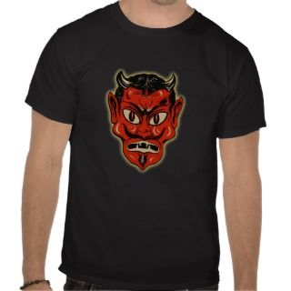 1920s Halloween Red Devil T Shirts