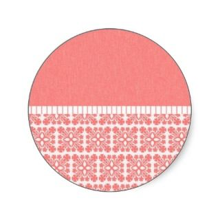 Hawaiian Quilt Pattern Cards, Postage, Mousepads Round Stickers